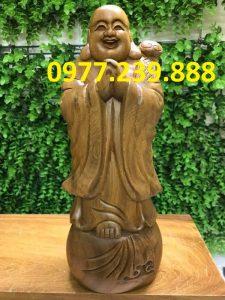 tuong phat chuc phuc bang bach xanh 30cm