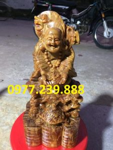 tuong phat di lac nhị phuc go huyet long 30cm