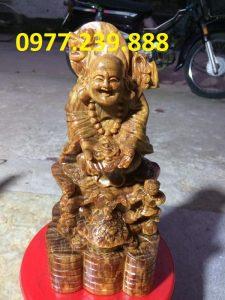 tuong phat di lac nhị phuc go huyet long 50cm