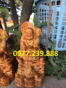 tuong phat di lac nhi phuc bang huyet long 60cm