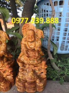 tuong phat di lac nhi phuc go huyet long 30cm