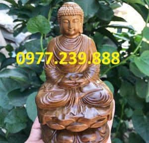 tuong phat ong adida bang go bach xanh