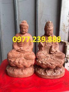 tuong phat ong adida go huong
