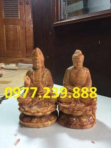 tuong phat ong adida go huyet long 20cm