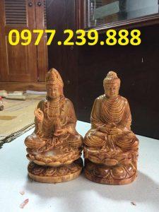 tuong phat ong adida go huyet long 30cm