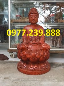tuong phat ong thich ca go huong 20cm