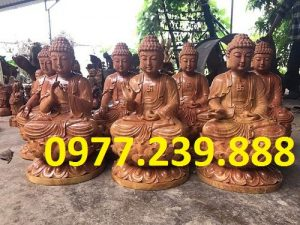tuong phat ong thich ca go huong 60cm