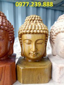 Diện Phật bằng bách xanh cao 20cm