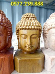 Diện Phật bằng bách xanh cao 30cm