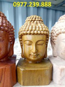 Diện Phật bằng bách xanh cao 40cm