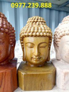 Diện Phật bằng bách xanh cao 50cm