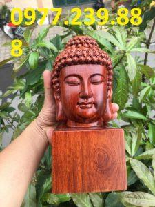 Diện Phật gỗ Hương ta mini giá gốc