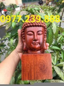 Diện Phật gỗ Hương ta mini giá rẻ