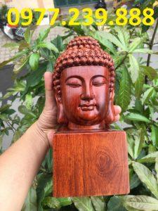 Diện Phật gỗ Hương ta mini mua bán