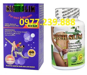 Thuốc hỗ trợ giảm cân Rich Slim