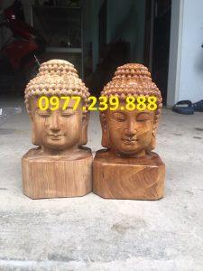 bán tượng diện phật bằng gỗ hương