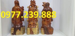 bán tam đa phúc lộc thọ bằng gỗ trắc dây