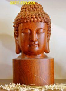 diện phật bằng gỗ hương