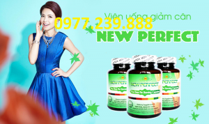 giam can new perfect ho tro chinh hang 60 vien