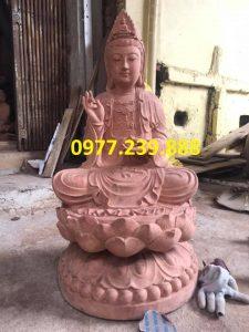 phat ba bang go huong 50cm