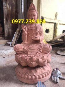 phat ba bang go huong 70cm