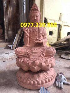 phat ba bang go huong 80cm