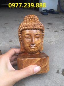 tượng diện gỗ bách xanh 40cm