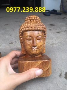 tượng diện gỗ bằng bách xanh 40cm