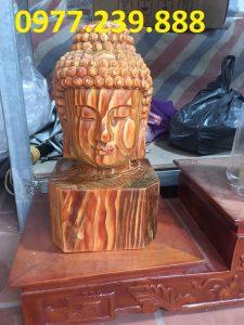 tượng diện gỗ bằng gỗ bách xanh 20cm