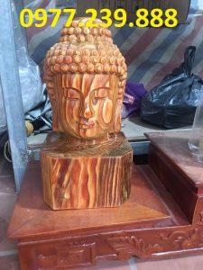 tượng diện gỗ bằng gỗ bách xanh 30cm