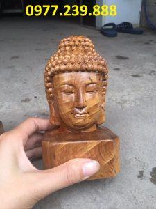 tượng diện gỗ bằng gỗ bách xanh 40cm giá gốc