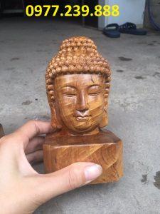 tượng diện gỗ bằng gỗ bách xanh 40cm giá rẻ