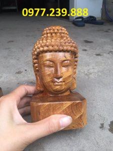 tượng diện gỗ bằng gỗ bách xanh 40cm mua bán