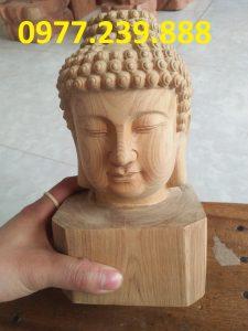 tượng diện phật bằng gỗ xá xị giá rẻ