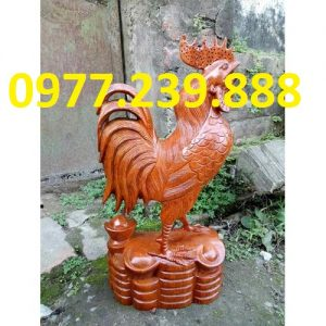 tượng gà phong thủy ghương vân