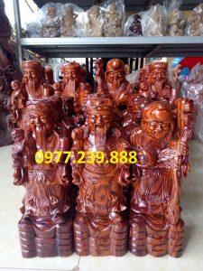 tượng tam đa bằng gỗ trắc dây giá rẻ