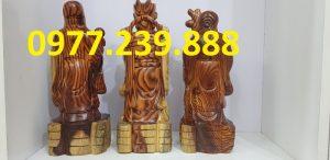 tam đa phúc lộc thọ bằng gỗ trắc dây giá rẻ