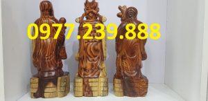 tam đa phúc lộc thọ bằng gỗ trắc dây mua bán