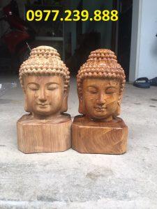 tuong dau phat bach xanh cao 20cm