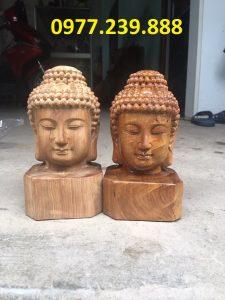 tuong dau phat bach xanh cao 40cm