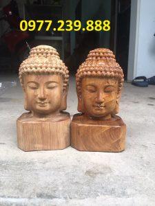 tuong dau phat bang go bach xanh cao 20cm