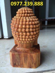tuong dau phat bang go bach xanh cao 30cm