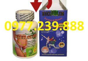 viên uống giảm cân rich 60v