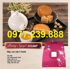 bánh trung thu cao cấp bảo ngọc hương nguyệt giá rẻ