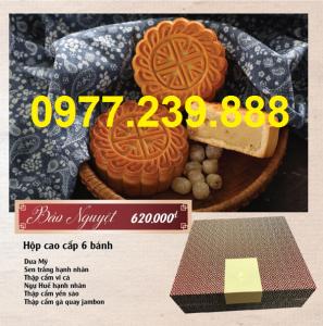 bảng giá bánh trung thu bảo ngọc giá gốc