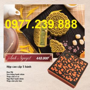 bảng giá bánh trung thu cao cấp bảo ngọc ở cầu giấy