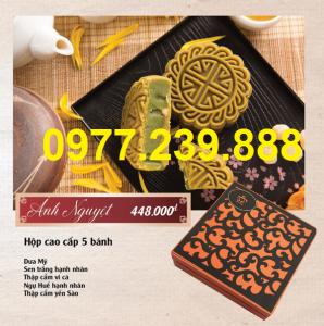 bảng giá bánh trung thu cao cấp bảo ngọc bán buôn