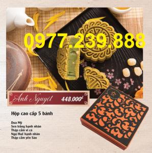 bảng giá bánh trung thu cao cấp bảo ngọc giá gốc
