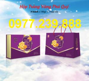 bảng giá bánh trung thu cao cấp hải hà hộp phú quý ở linh đàm